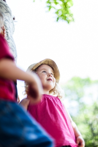 Children desire to make sense of the world around them. They develop a strong sense of exploration that can really be nurtured in play based programming, which is flexible and based on the children's interest. Taking a step back and encouraging this exploration is when those Aha! moments happen.