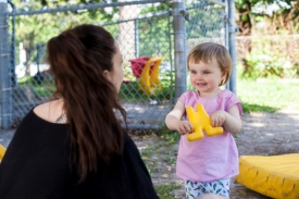 One on One interaction is so vital to children health and happiness within Child Care. Taking a moment to stop and come down to the child's level, embracing their feelings and needs provides a sense of trust and security for both educator and child.